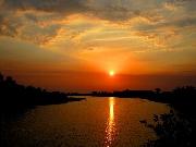 Sông Bồ hoàng hôn