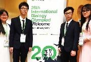 Học sinh Trường Quốc học Huế giành Huy chương Vàng Olympic Sinh học quốc tế