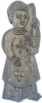 Về một bản khắc xưa của tranh thờ cúng làng Sình