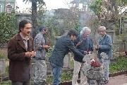 Cùng văn nghệ sĩ Huế viếng mộ thi nhân