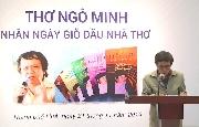 Tọa đàm thơ Ngô Minh - Nhân ngày giỗ đầu nhà thơ
