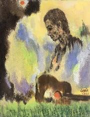 Đấu giá tranh của họa sĩ Lê Duy Đoàn gây quỹ hỗ trợ người khó khăn vì dịch Covid-19