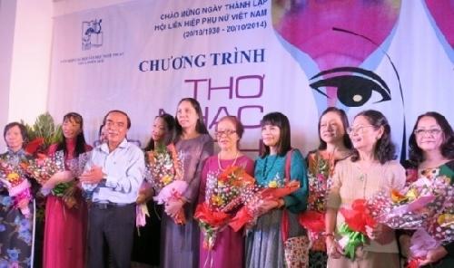Liên Hiệp các Hội Văn học Nghệ thuật Thừa Thiên Huế Tôn vinh nữ văn nghệ sĩ