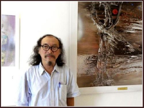 Tác phẩm của họa sĩ Đặng Mậu Tựu