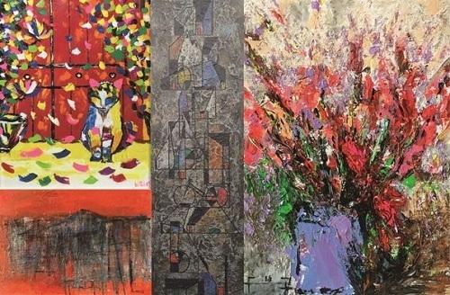 Những mảnh 'Ghép' của Lê Thiết Cương và nhóm họa sỹ G39