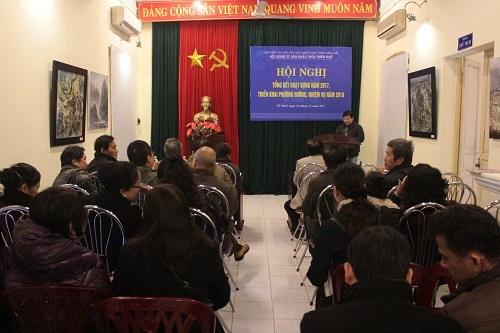 Hội Nghệ sĩ sân khấu TT.Huế tổng kết công tác năm 2017, triển khai hoạt động năm 2018