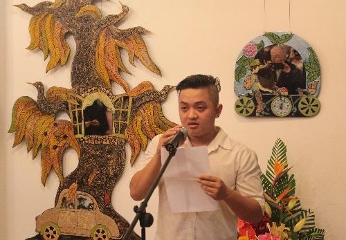 """Ấn tượng với triển lãm """"Duyên Bốn Mùa"""" của họa sĩ trẻ Nguyễn Đức Phước"""