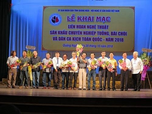 500 nghệ sĩ tham gia Liên hoan sân khấu Tuồng, Bài chòi và Dân ca kịch toàn quốc