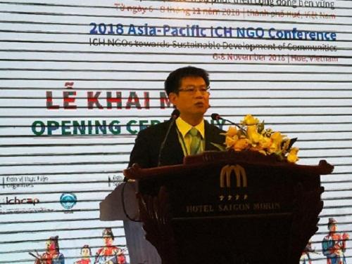 Hội nghị Di sản Văn hóa phi vật thể Châu Á-Thái Bình Dương 2018 chính thức khai mạc