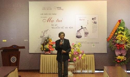 """Ra mắt tự truyện """"Mạ tui"""" của nhà giáo Nguyễn Viết An Hòa"""