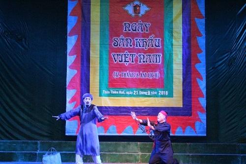 Hội Nghệ sĩ Sân khấu TT.Huế tổ chức chào mừng Ngày Sân khấu Việt Nam