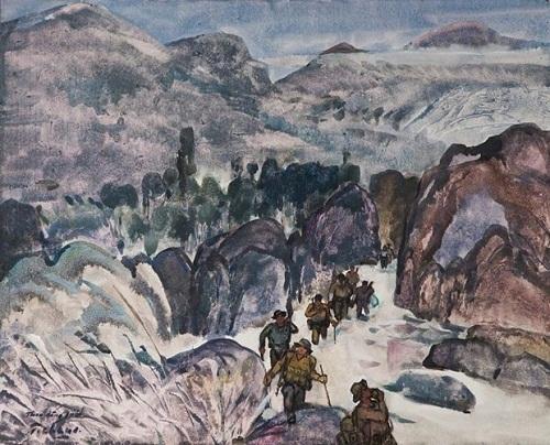 Khai mạc triển lãm nghệ thuật 'Ký ức Đường Trường Sơn'