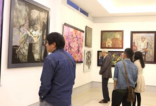 Triển lãm mỹ thuật chào mừng 68 năm Ngày truyền thống Mỹ thuật Việt Nam (10/12/1951 - 10/12/2019)