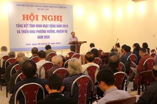 Hội nghị tổng kết tình hình hoạt động năm 2019 của Hội Nhà văn Thừa Thiên Huế