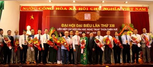 """Đại hội đại biểu Liên hiệp các hội Văn học Nghệ thuật Thừa Thiên Huế lần thứ XIII, nhiệm kỳ 2020-2025: """"Đoàn kết, đổi mới, dân chủ, sáng tạo"""""""